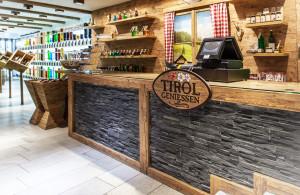 Tirol Geniessen Corporate Architecture, entwickelt von der Markenagentur Menori Design aus Hamburg und New York