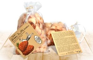 Tirol Geniessen Packaging, entwickelt von der Markenagentur Menori Design aus Hamburg und New York