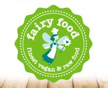 Fairy Food Markenidentität, entwickelt von der Markenagentur Menori Design aus Hamburg und New York