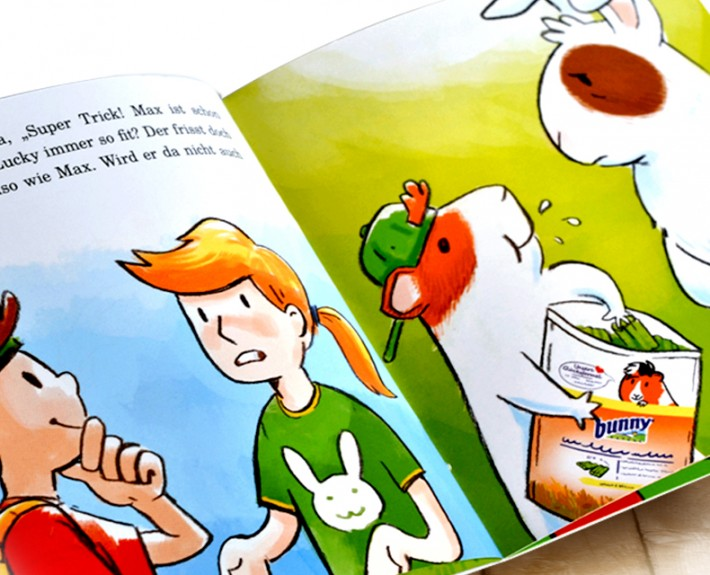 bunny nature booklet, entwickelt von der Markenagentur Menori Design aus Hamburg und Newyork