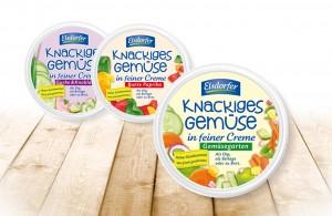 Heideblume Elsdorfer Knackiges Gemuese Packaging, entwickelt von der Markenagentur Menori Design aus Hamburg und New York